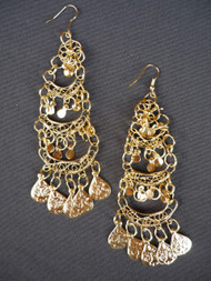 Coin Earrings - Style 9