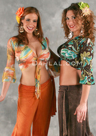 SAHARA Gypsy Warp Top in Assorted Prints by Off The Nile