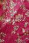 Wine Floral Lace
