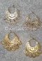 Gold or Silver Coin Earrings from Egypt