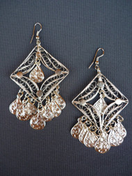 Coin Earrings - Style 11