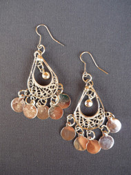 Coin Earrings - Style 12