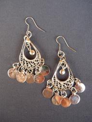 Coin Earrings - Style 12
