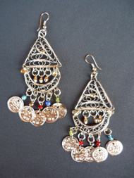 Coin Earrings - Style 13