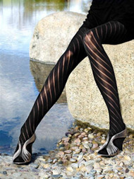 DASHING DIAGONALS Stockings from Leg Luxury