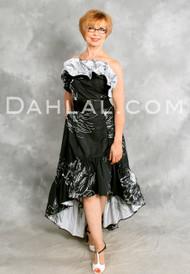FLORECIENTE BOLEO, by Samuel Dong, Tango Wear Flower Jacquard Dress