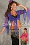 SAMIRA Solid Color Micro Mesh Wrap Tops by Off the Nile image
