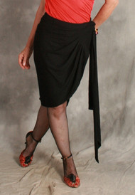 Wrap Skirt with Ties