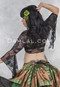 tribal belly dance lace wrap top