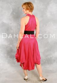 RETRO CHARMEUSE DRESS, by Samuel Dong, Tango Wear