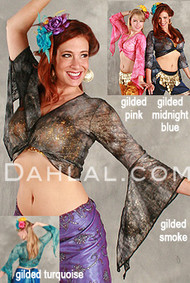 SAMIRA Antique Lace Wrap top image