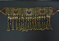 Antique Afghani Kuchi Tribal Belly Dance Headpiece, option 3