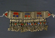 Antique Afghani Kuchi Tribal Belly Dance Headpiece, option 7