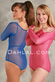 SEKHMET  Micro Mesh Long Sleeve Body Stocking, in Colors, by Off the Nile