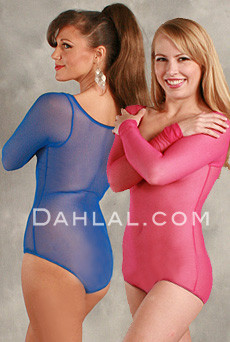 dac0dabfa8 Long Sleeve Body Stockings from Dahlal for Belly Dancing