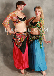 SAFIYA Gypsy Wrap Top by Off the Nile