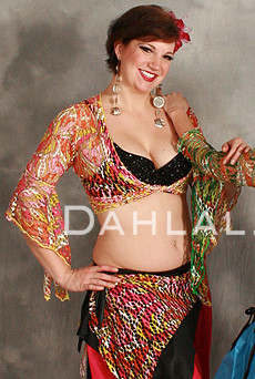 SAFIYA Gypsy Wrap Top by Off the Nile image