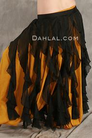 TRIBAL TENDRIL Wrap Skirt