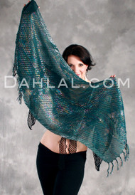 PRETTY & PRISMATIC Metallic Scarf