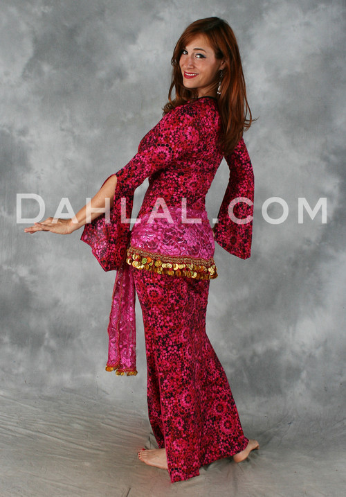 Belly dance saidi dress, performance dress