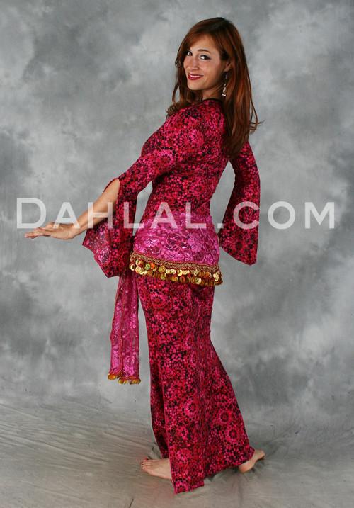 Belly dance saidi dress, performance dress