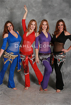 Black, Purple, Red and Royal Blue Unitards
