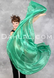 Half Circle Organza Veil for Belly Dance - 21 Colors Available