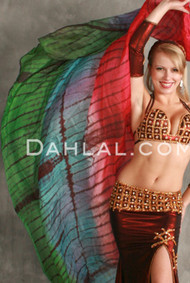 Tiger Silk Veil for Belly Dance