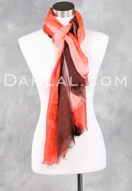 Gradient Stripe Scarf