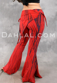 Wide Flare Tribal Belly Dance Pant