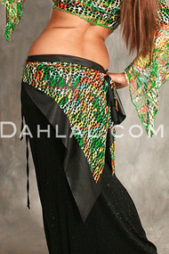 SAFIYA Hip Wrap for Belly Dance by Off The Nile