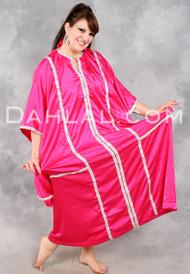 Shimmering Saudi, Khaleegi Dress or Thobe for Saudi Dancing