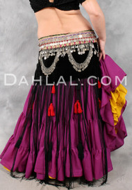 Tribal Fringe and Tassel Belt in Size Small, Option #1, for Belly Dance