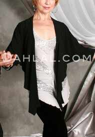 Shawl Front Shrug Jacket from Essex