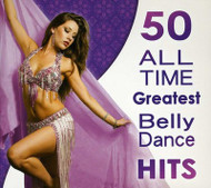 50 All Time Greatest Belly Dance Hits, Belly Dance CD