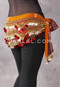 Ethnic Print 29 Gold and Copper