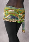 Floral Print Gold with Kelly Green in Stock (this photo shows Lime Green)