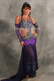 EVENING FLAIR by Pharaonics of Egypt, Egyptian Belly Dance Costume, Available for Custom Order