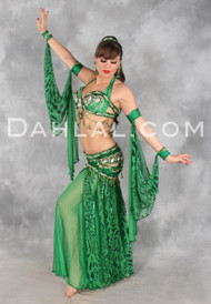 WILD VENUS by Pharaonics of Egypt, Egyptian Belly Dance Costume, Available for Custom Order