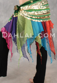 LOTUS HANDKERCHIEF SKIRT by Off the Nile