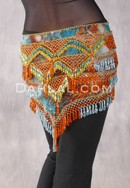 Graphic Print-48-Gold-Orange-Turquoise