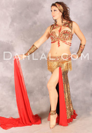 EVERLASTING ELEGANCE by Pharaonics of Egypt, Egyptian Belly Dance Costume, Available for Custom Order