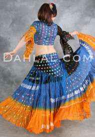 SAHARA RHAPSODY Three Piece Set, Belly Dance Costume