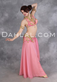 GILDED RICHES by Designer Eman Zaki, Egyptian Belly Dance Costume, Available for Custom Order