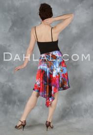 Graceful Charmeuse Tango Skirt, by Dahlal USA