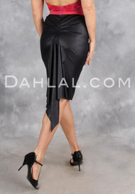 Sleek Pencil Skirt with Back Godet, by Dahlal USA, Tango Skirt