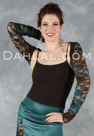 Stretch Shrug with Collar, by Dahlal USA