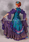 Purple Peasant Top Shown with a Twilight Tales Underbust Tail Vest