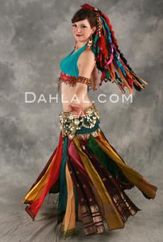Sari Streamer Skirt