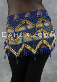 MULTI-ROW EGYPTIAN BEADED WRAP # 10